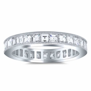 Carré Diamond Eternity Ring