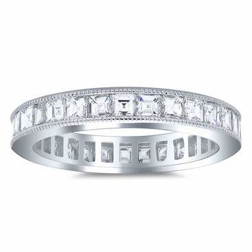 Carré Diamond Eternity Ring - click to enlarge