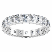 Cushion Anniversary Eternity Ring