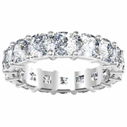 Cushion Diamond Anniversary Eternity Band