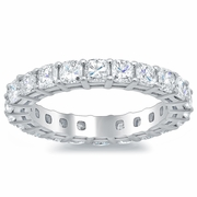 Cushion Eternity Ring