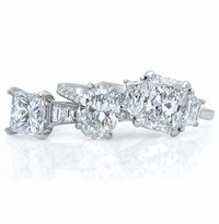 Diamond Accented Engagement Rings
