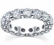 Diamond Eternity Band Prong Set
