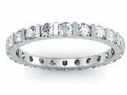 Diamond Eternity Ring Bar Set