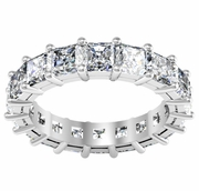 Diamond Eternity Ring in Radiant Cut (5.00 cttw)