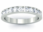 Diamond Eternity Ring Single Row Pave