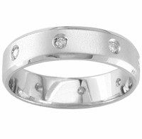 Diamond Eternity Wedding Band for Men