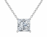 Diamond Princess Pendant Necklace