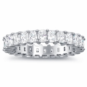 Eternity Band with Radiant Diamonds (3.00 cttw)