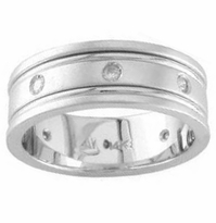 Eternity Ring for Men 0.24cttw