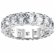Eternity Style Anniversary Band with Cushion Diamonds