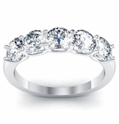 Five Certified Diamond Ring
