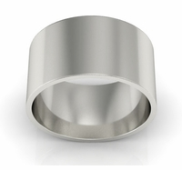 Flat Men's Wedding Band