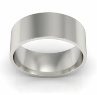Flat Wedding Ring for Men