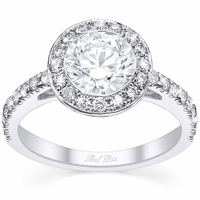 Halo Bezel Style Wedding Ring