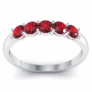 July Birth Stone Ring 0.50cttw