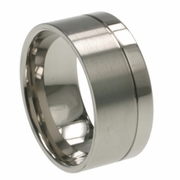 Man Titanium Wedding Ring