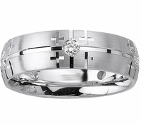 Mens Diamond Wedding Ring (0.25cttw)
