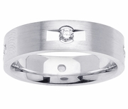 Mens Diamond Wedding Ring (0.32cttw)