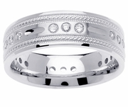 Mens Diamond Wedding Ring (0.45cttw)