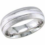 Mens Ring 6.5 mm Comfort Fit