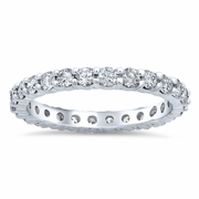 One Carat Diamond Eternity Wedding Ring