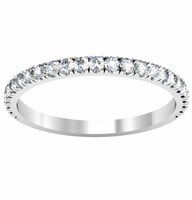 Pave Half Eternity Band