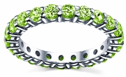 Peridot Wedding Ring