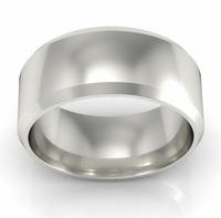 Plain Wedding Ring in 18k 8mm