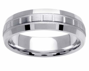 Platinum Band for Men 6mm Comfort Fit PT950