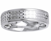 Platinum Band for Men or Women in 6 mm Comfort Fit PT950