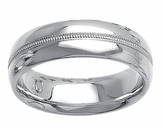 Platinum Ring for Men 7mm Comfort Fit PT950