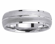 Platinum Ring for Men in 6 mm Comfort Fit PT950