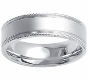 Platinum Ring for Men in 7mm Comfort Fit PT950