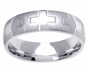 Platinum Wedding Band 6 mm Comfort Fit PT950