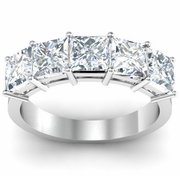 Princess Cut Anniversary Ring