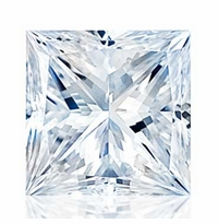 Princess Cut Forever One Moissanite