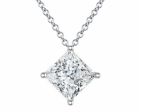 Princess Kite Diamond Pendant