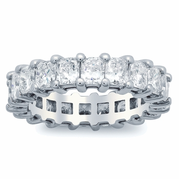 Radiant Cut Diamond Eternity Band (4.00 cttw) - click to enlarge