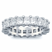 Radiant Cut Diamond Eternity Ring (4.00 cttw)