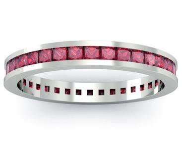 Ruby Eternity Ring - click to enlarge