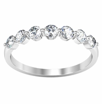 Seven Stone Round Diamond Ring (0.50 cttw)
