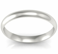 Simple Gold Wedding Ring 3mm