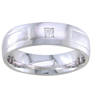 Solitaire Mens Diamond Ring