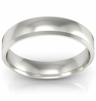 Traditional Wedding Band in 14k 4mm