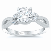 Vine Twisted Engagement Ring Setting