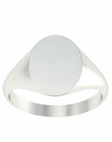Women's Signet Rings for Three Initials