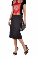 Black Swan Pencil Skirt