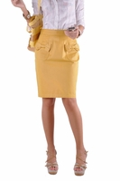 Bow Tie Yellow Skirt