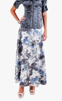 Cloudy Monet Flowing Skirt